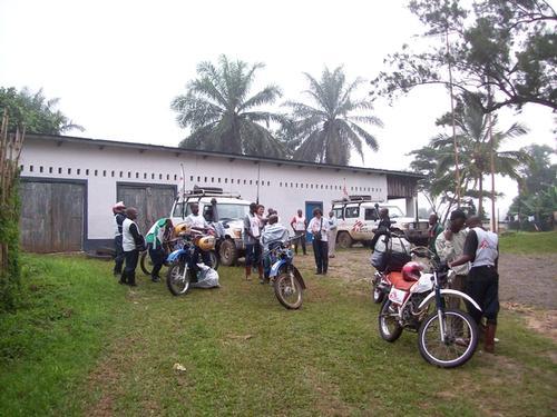 MSF in Pinga Healthzone, DRN, June 2010