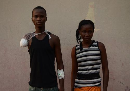 Patient story in Bangui community hospital