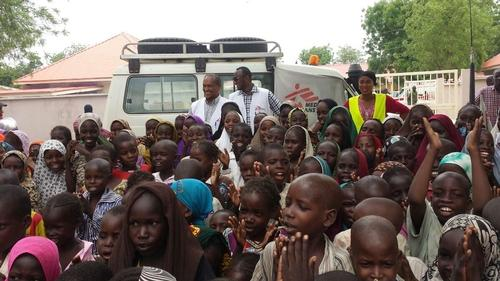 Displaced people in dire health situation in Bama