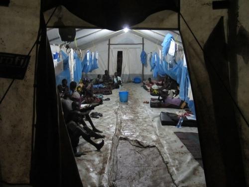 Lietchuor permanent camp South Sudanese in Gambella region.