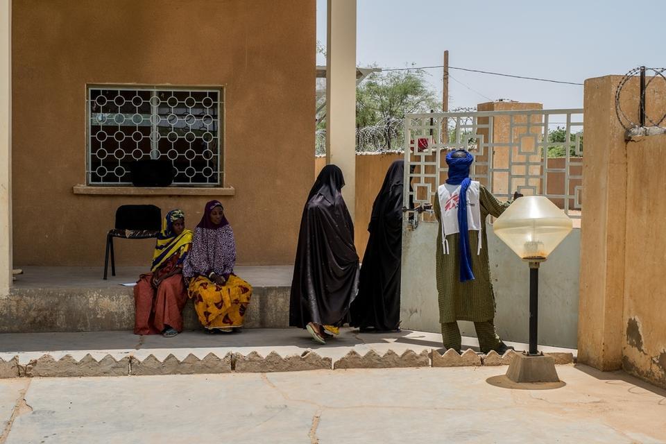 Ansongo hospital, Gao region, in northern Mali