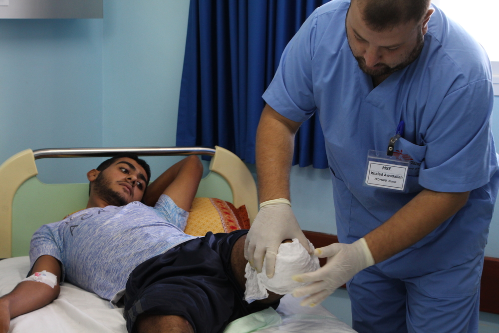 Gaza - Lifelong impact of gunshot injuries