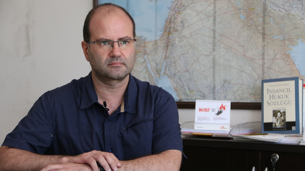 Carlos Francisco Head of Mission of MSF projects in Syria