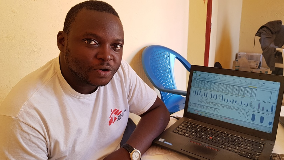 Wilfred Ngwa, MSF epidemiologist