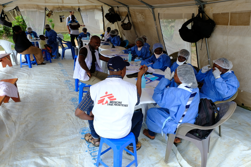 MSF manages three vaccination teams