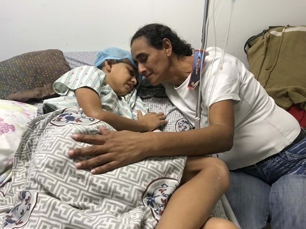 Roiber, 11, was shot in the head while visiting his father near Caracas. Violence is still pervasive in many neighbourhoods in the Venezuelan capital.