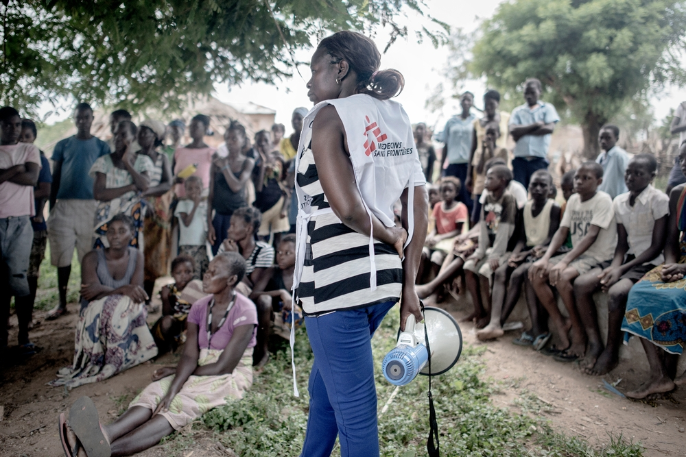 Floods aftermath: cholera emergency in Mozambique. Photo: Luca Sola