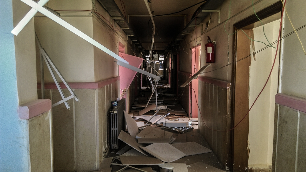 Inside Busra hospital after the bombing