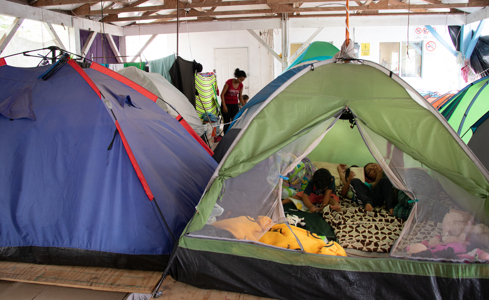 Since the implementation of The Migration Protection Protocol in Matamoros, Tamaulipas, MSF has seen around 100 people re-entry the country daily, in a city with no capacity to receive this population. Asylum seekers are forced to sleep in tents establish