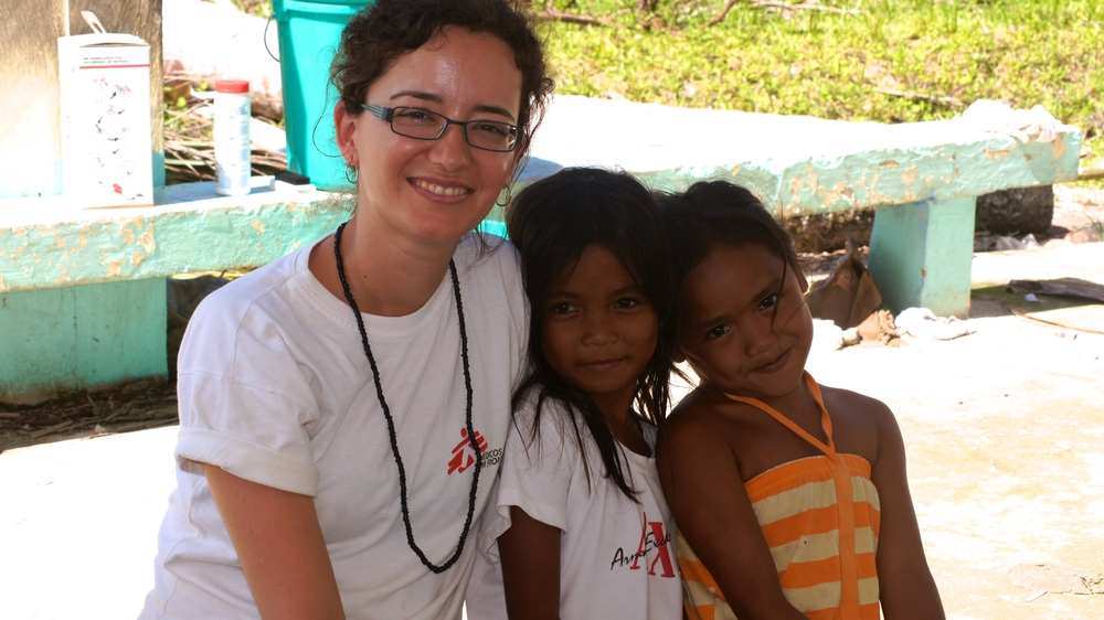 MSF psychologist in Philippines
