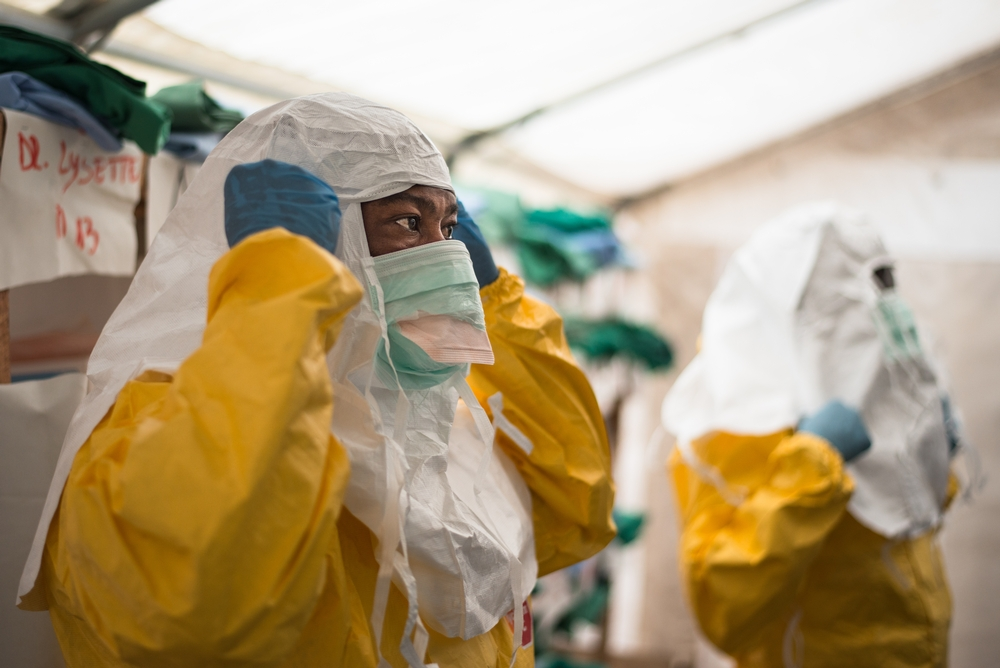 Democratic Republic Of Congo MSF Treating Ebola Patients Despite Difficult Conditions