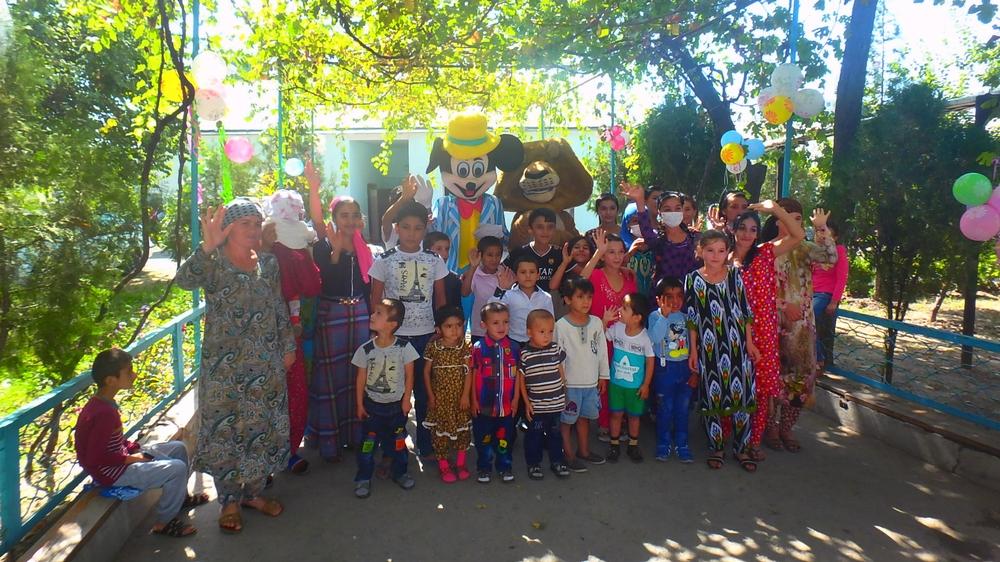 Play Therapy in Tajikistan
