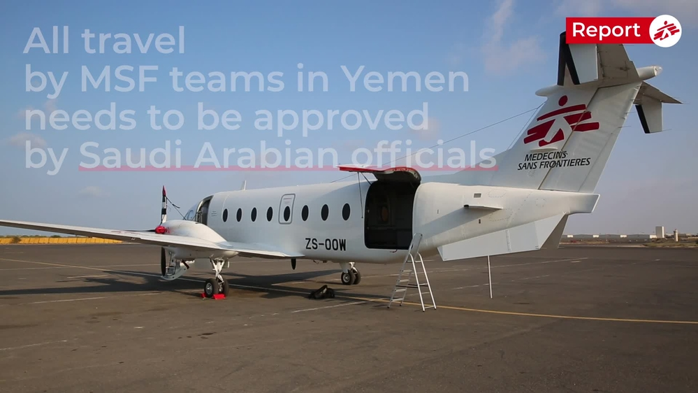 REPORT: Getting staff and supplies to Yemen (ENG)