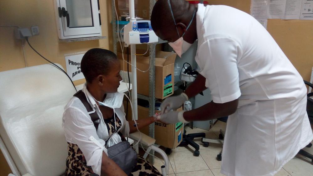 Maputo's chemotherapy unit for Kaposi sarcoma