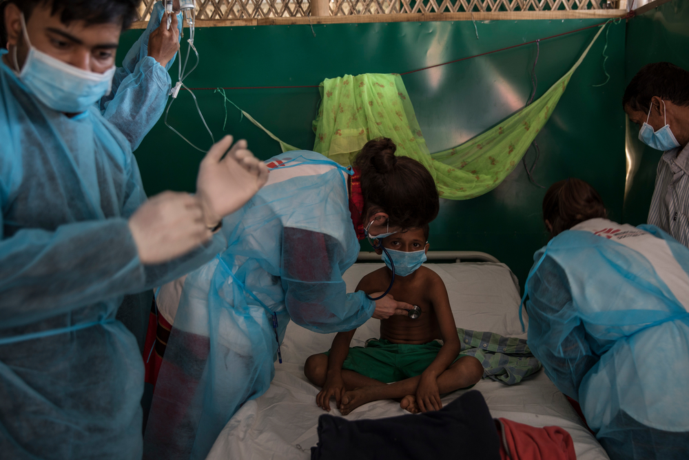 rohingya crisis   u0026quot after measles and diphtheria outbreaks