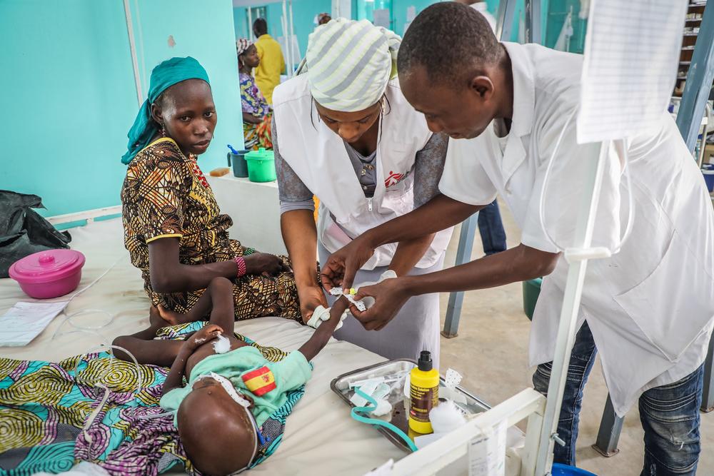 Niger - Magaria Paediatric Unit