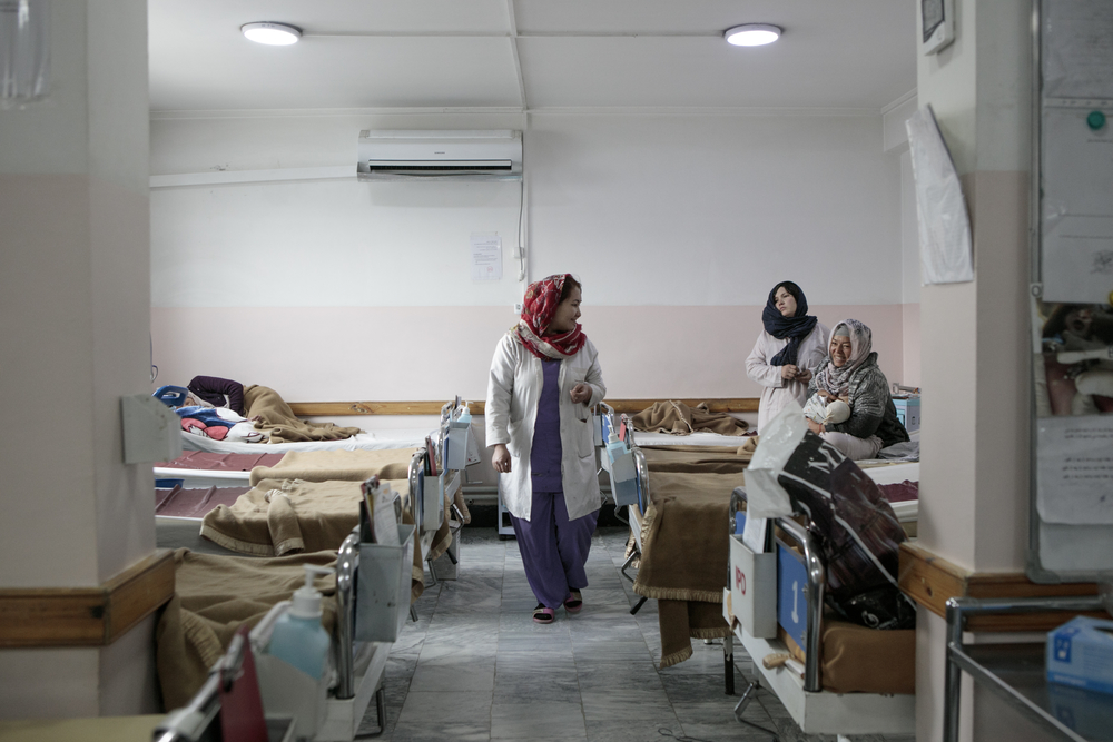 MSF has been supporting the Dasht-e-Barchi maternity hospital for six years. Photo taken in December 2019.