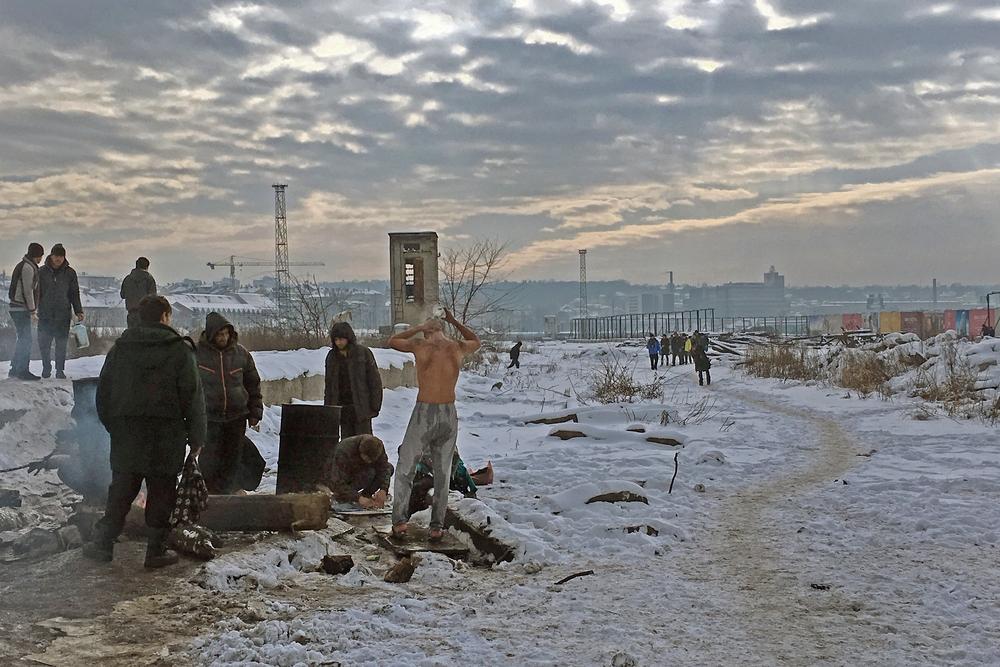 Stranded in Serbia