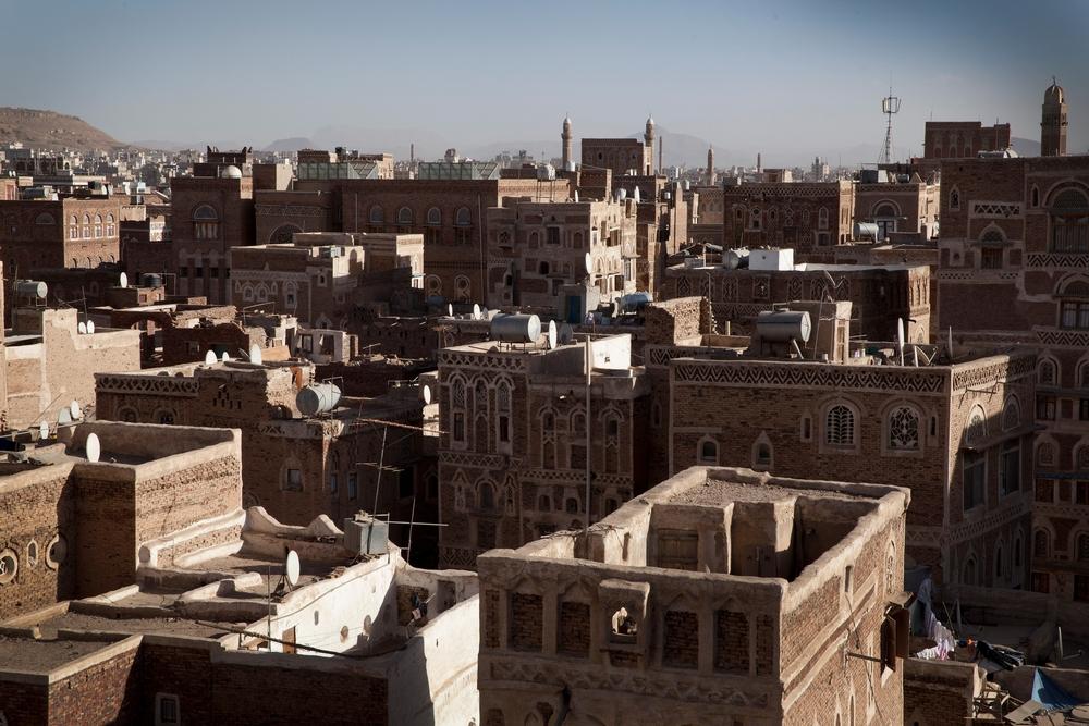 Landscape of Sana'a