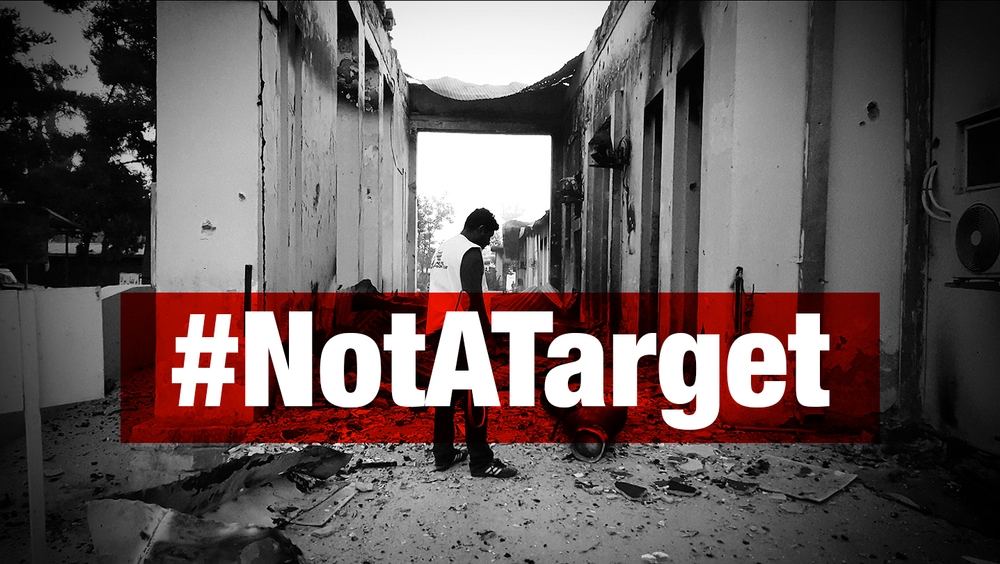 #NotATarget: Join Our Social Media Action