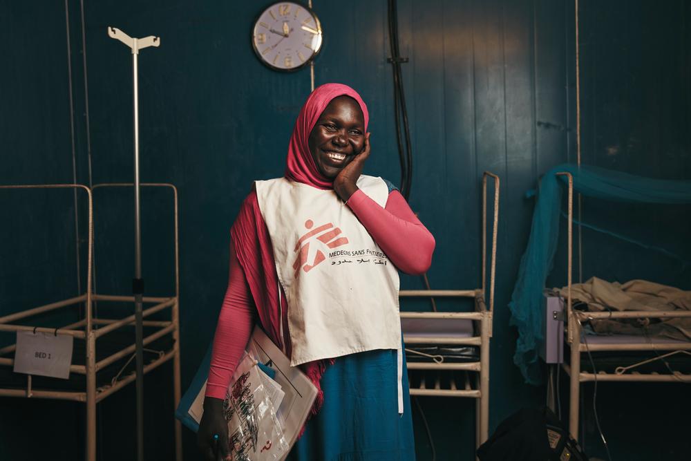 Bakhita Mohammed, health promoter
