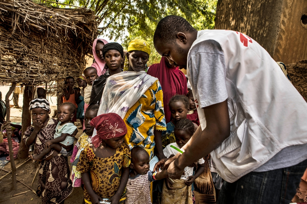 Tounfafi one of the sites where seasonal malaria chemoprevention (SMC) has been implemented in Niger.