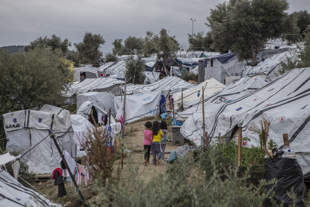 MSF is calling for the urgent evacuation of refugee camps in Greece amid the coronavirus pandemic