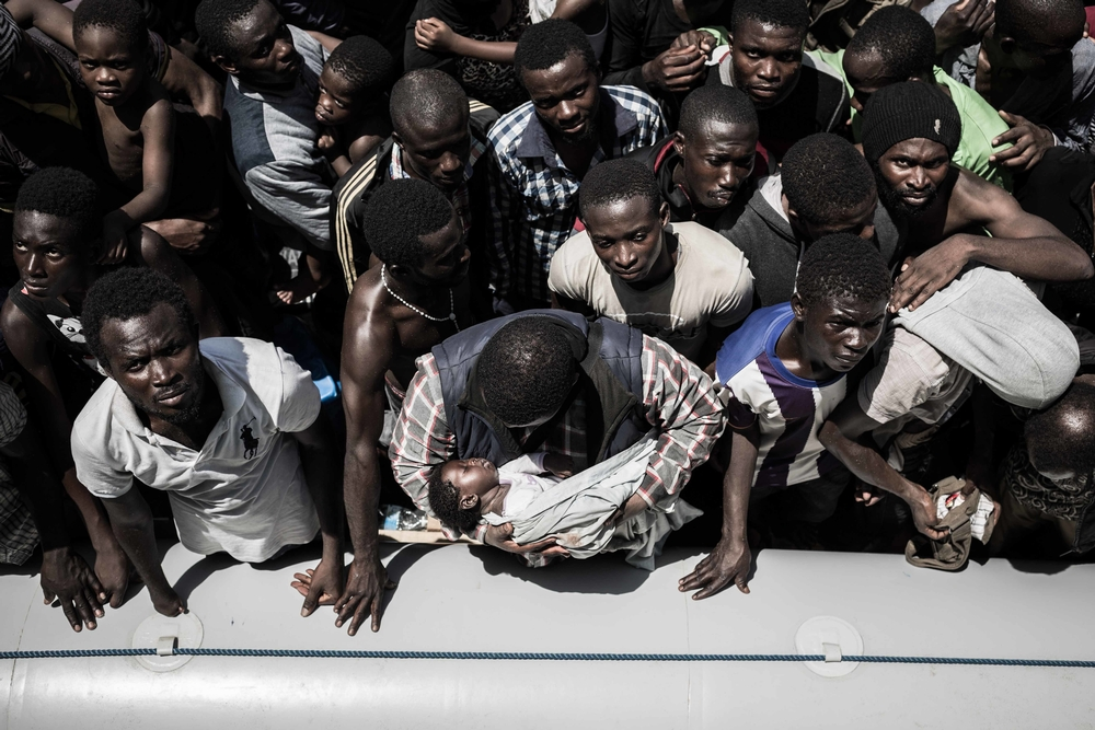Bourbon Argos rescues in the Mediterranean (July-August 2015)