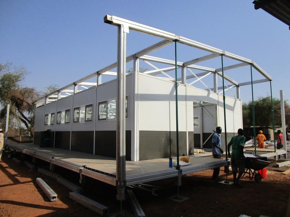 Nuestro nuevo hospital \'lego\' no necesita cimientos, es ligero y se ...