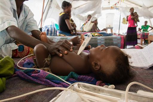 Malnutrition and malaria in Manono health zone