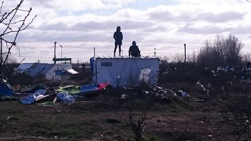 Dismantling of MSF shelters in Calais' Jungle
