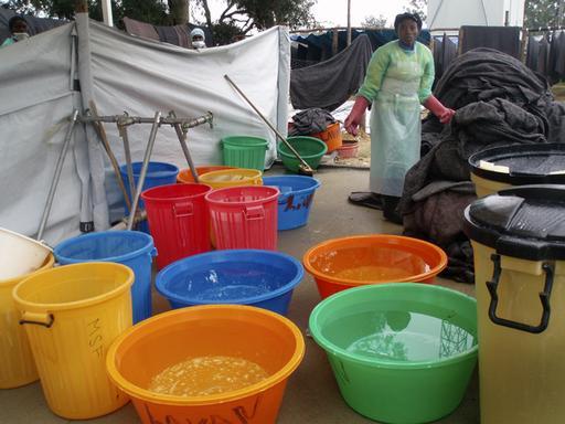 cholera epidemic in Lubango