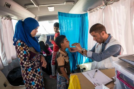 Erbil Iraq - Debaga Camp and Mobile Clinic
