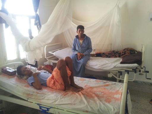 Abs Hospital, Hajja, Yemen