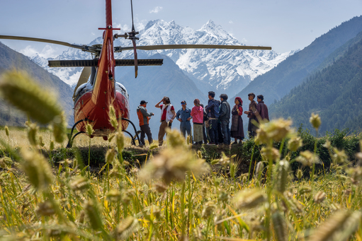 MSF Response to Nepal Earthquake Extreme Medicine Exhibition Print