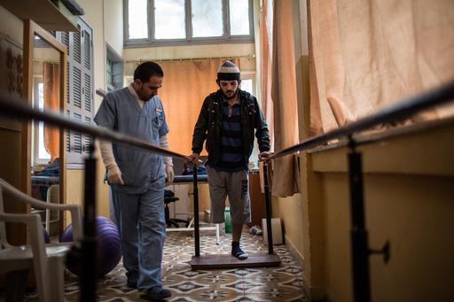 Gaza Clinic Laurence Geai