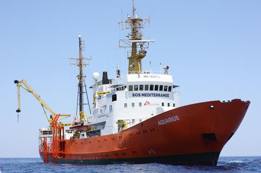 Rescue on MV Aquarius - June 2016