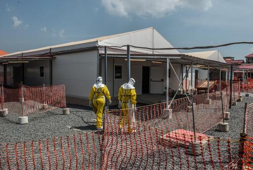 Nubia At MSF Ebola Treatment Center In Conakry, Guinea.