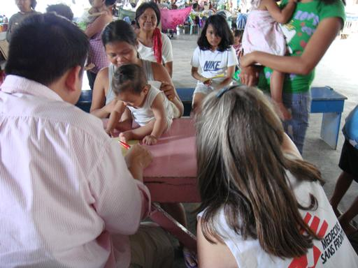 Ondoy Typhon , Angono, novembre 2009.