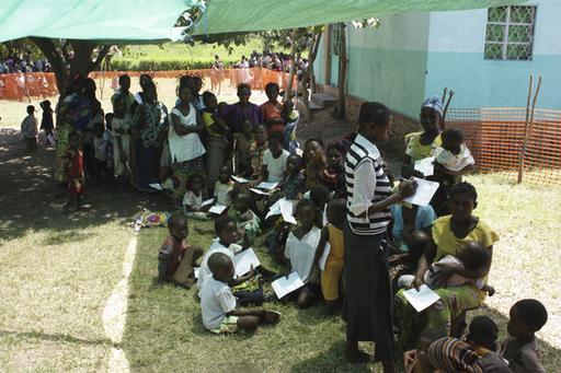 DR Congo, Malaria in Kinkondja, 2012