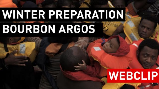 At the most dangerous time: Bourbon Argos Winterization: Bourbon Argos Winterization EN
