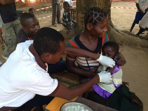 "Measles in Katanga (DRC): ""We are facing a real emergency epidemic"""