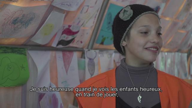 WEBCLIP: Alisar & Ahin, child refugees at Piraeus port, Greece (FR)