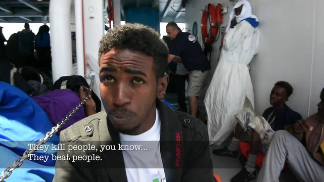 MSF SEARCH AND RESCUE _ TESTIMONY OSMAN ERITREA Eng Sub