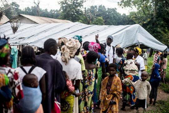 IDPs at Bossangoa
