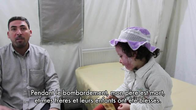Aisha - patient story from Gaza (FR)