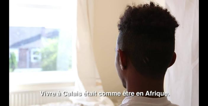 WEBCLIP: Mohammad, Sudanese minor, now safely in UK (FR)