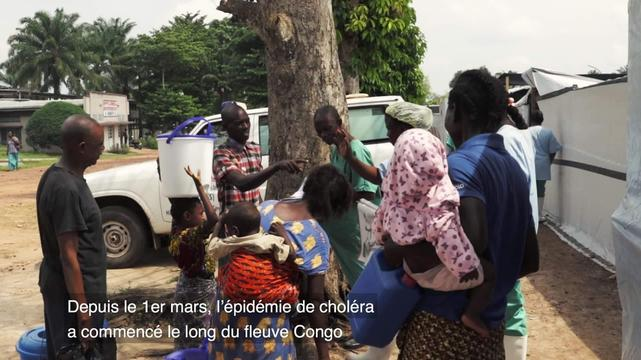 Fighting Cholera in DRC | WEBCLIP | FRENCH