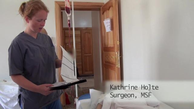 MSF Surgical Project In Syria
