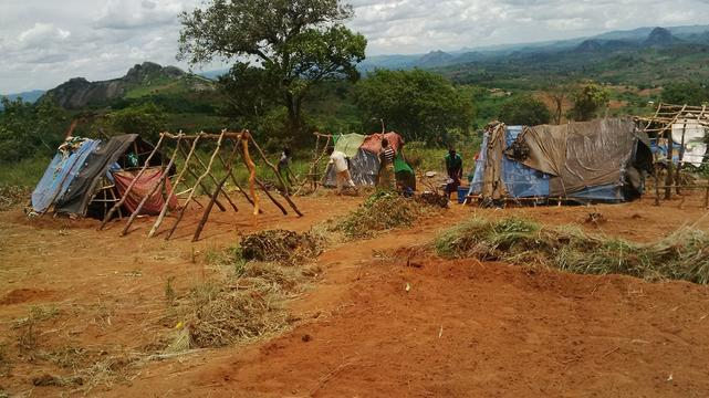 Refugees in Kapise village, Malawi